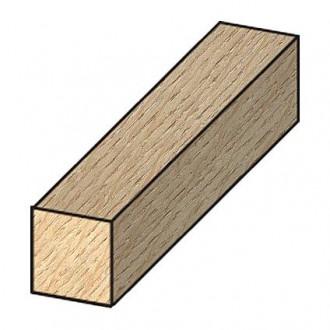 Latte bois raboté JéWé chêne 1,2 x 1,2 x 210 cm